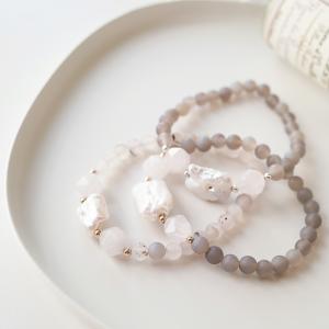 Matný achát, říční perla