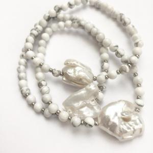 Náramky s říční perlou